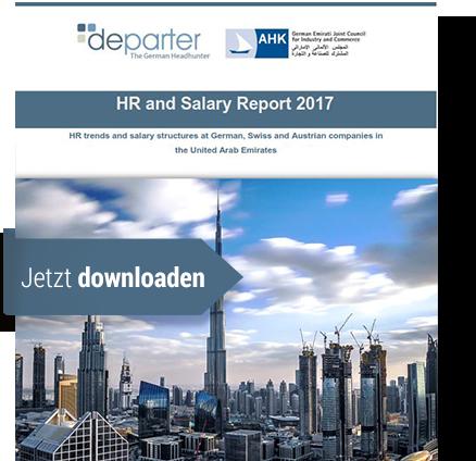 HR & SALARY REPORT 2015  Sie können den aktuellen HR & Salary Report 2015 für die VAE hier kostenlos downloaden.
